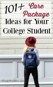 Care Package Ideas For Your College Student