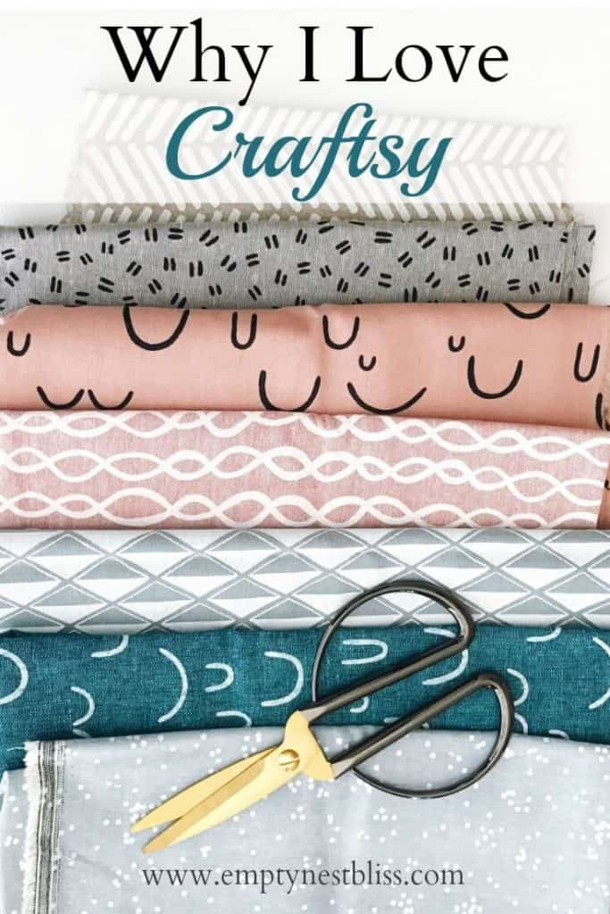 Why I love Craftsy! Knit, quilt, sew, it's up to you! Great place for both instruction and inspiration!