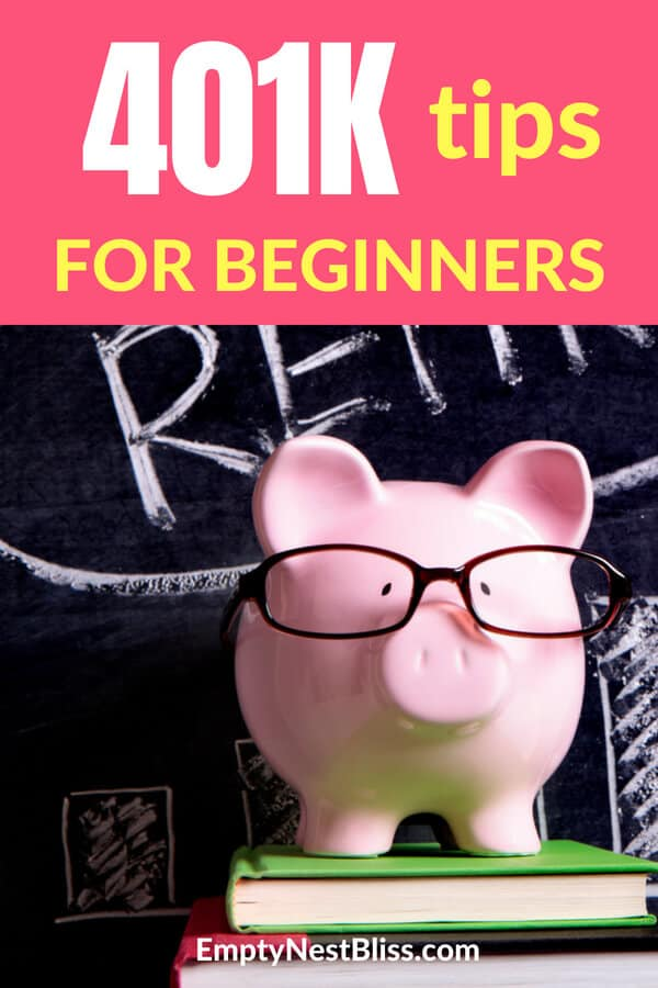401K tips for beginners that can help you plan for retirement.  Finance tips for your 401k. #money #finance