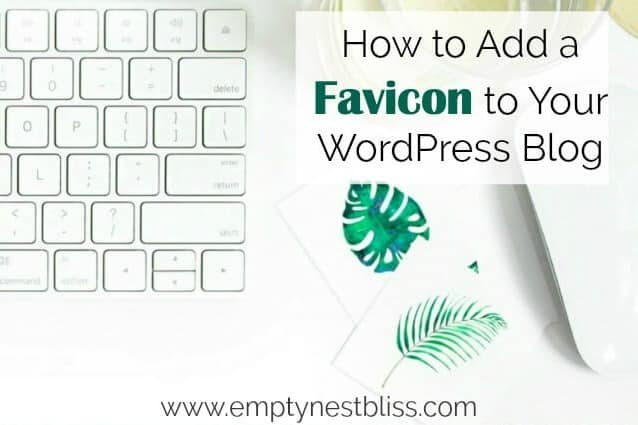 How to get favicon for your wordpdress blog.