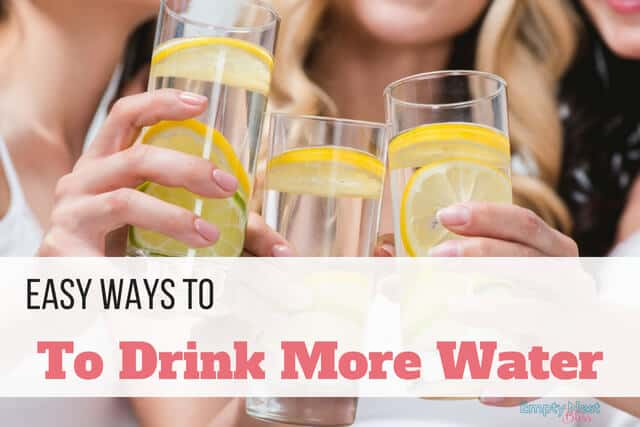 What's the best way to drink more water? Any way that works for you!!! Great ideas to get more water!