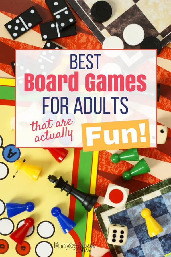 Best board games for adults that are actually fun! Great date night ideas. #love #marriagegoals #datenight