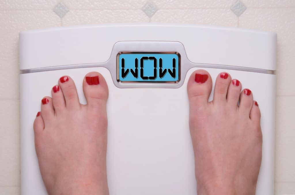 Your gut health can affect your weight loss.