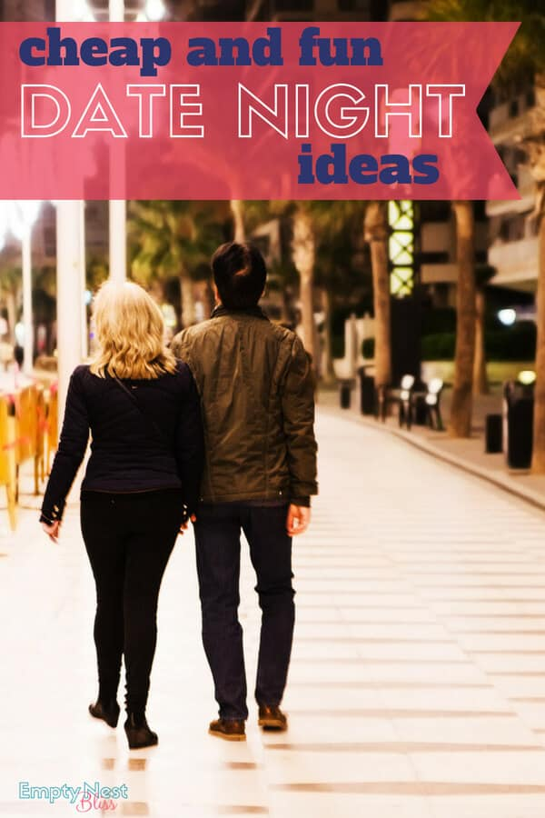 Date night ideas that are cheap but fun! Great printable list to download too!