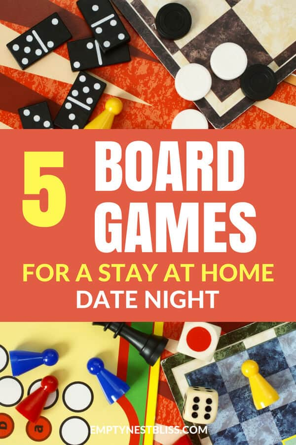 Board Games for two.  Date night board games for a great stay at home date night! Married life needs date nights and these are super fun games to play together! #relationshiptips #marriage