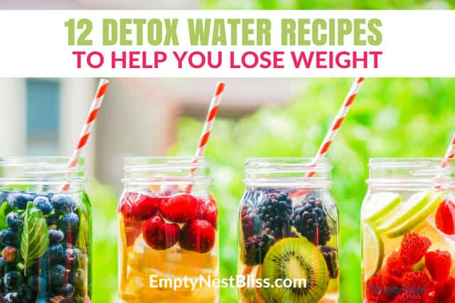 Infused water for weight loss recipes that anyone can make! Delicious detox water recipes using all natural ingredients!