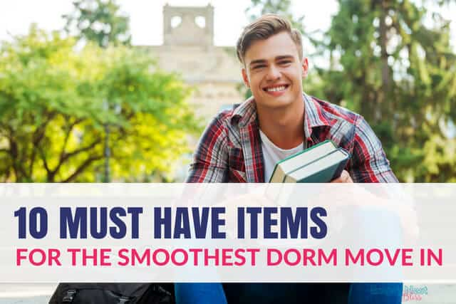 Dorm Room Essentials for the smoothest move in day yet!