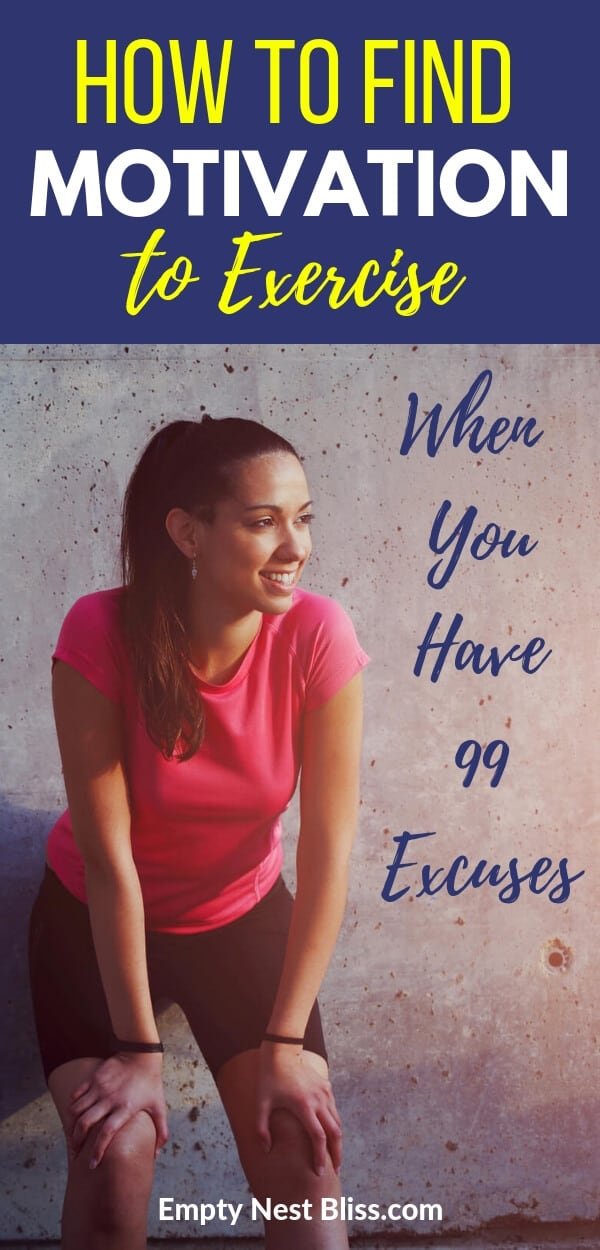 How to find exercise motivation when you have 99 excuses not to!