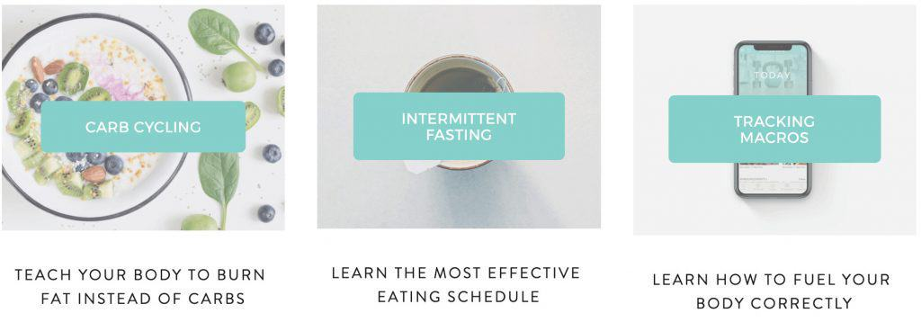 The FASTer Way to Fat Loss is a program that combines intermittent fasting, carb cycling and short workouts to turn your body into a fat-burning machine.