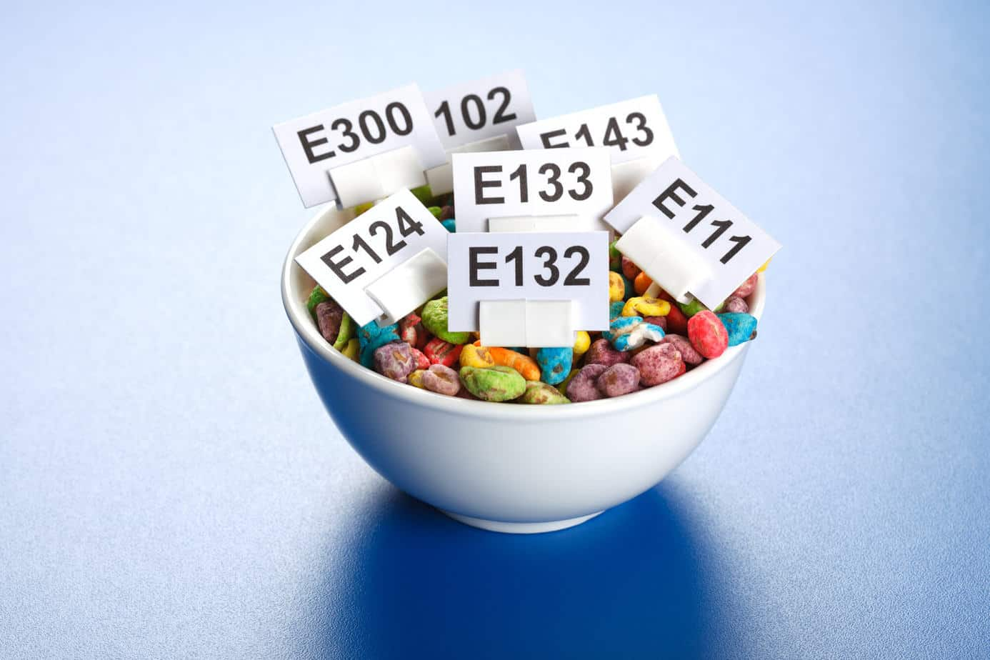 Food additives can harm your gut health.