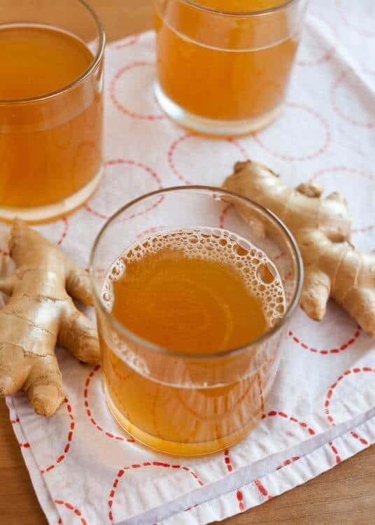 Kombucha gingerade is a great way to get those probiotics for your gut health.
