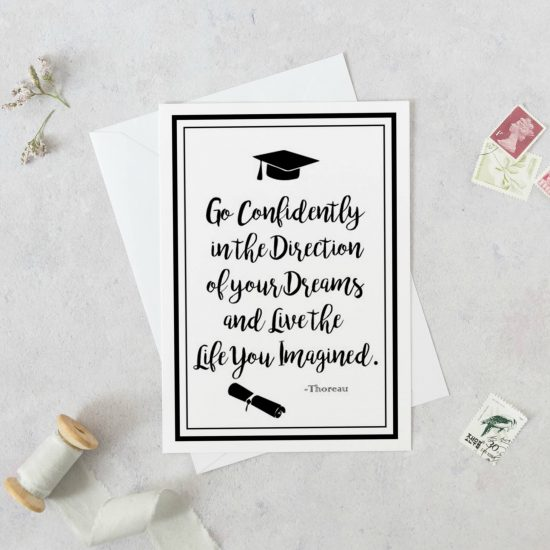 Printable Graduation Card for Him