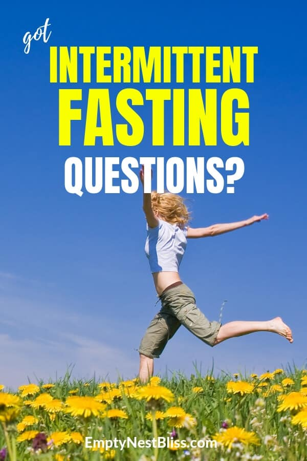 Intermittent Fasting FAQ for all the questions you have about intermittent fasting