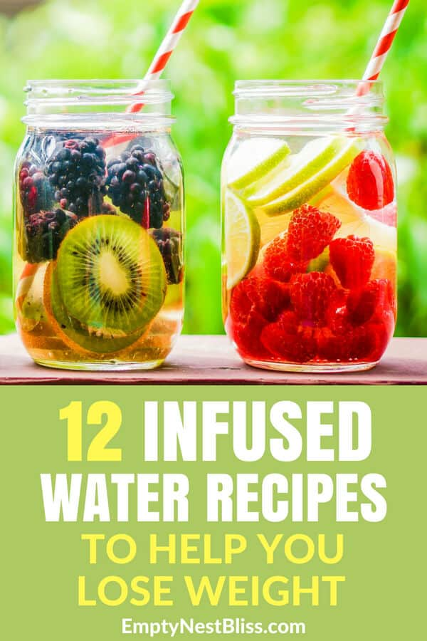 Infused Water Recipes and Detox water recipes to help you lose weight, lose the bloat and detox! #detoxwater #detox #weightloss #healthyliving