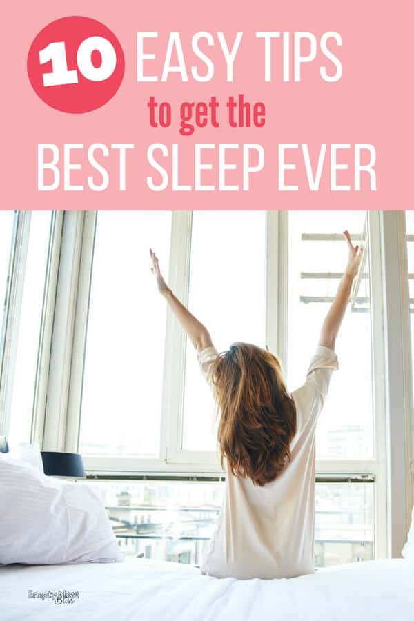 Getting a good night's sleep is a huge part of healthy living. Insomnia remedies and easy tips to help you get a good night's rest. #sleep #healthyliving