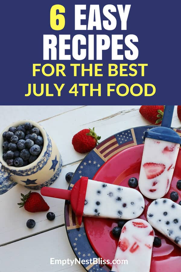 July 4th holidayFood recipes that will make everyone happy! Summer picnic grilling recipes. #july4th #4thofJuly #holiday #grilling