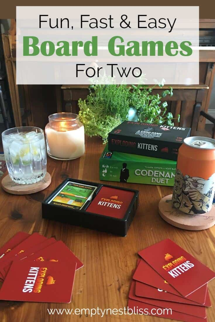 Best Board Games for Two : Date Night Edition