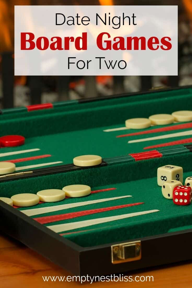 Great board games for two - date night ideas.