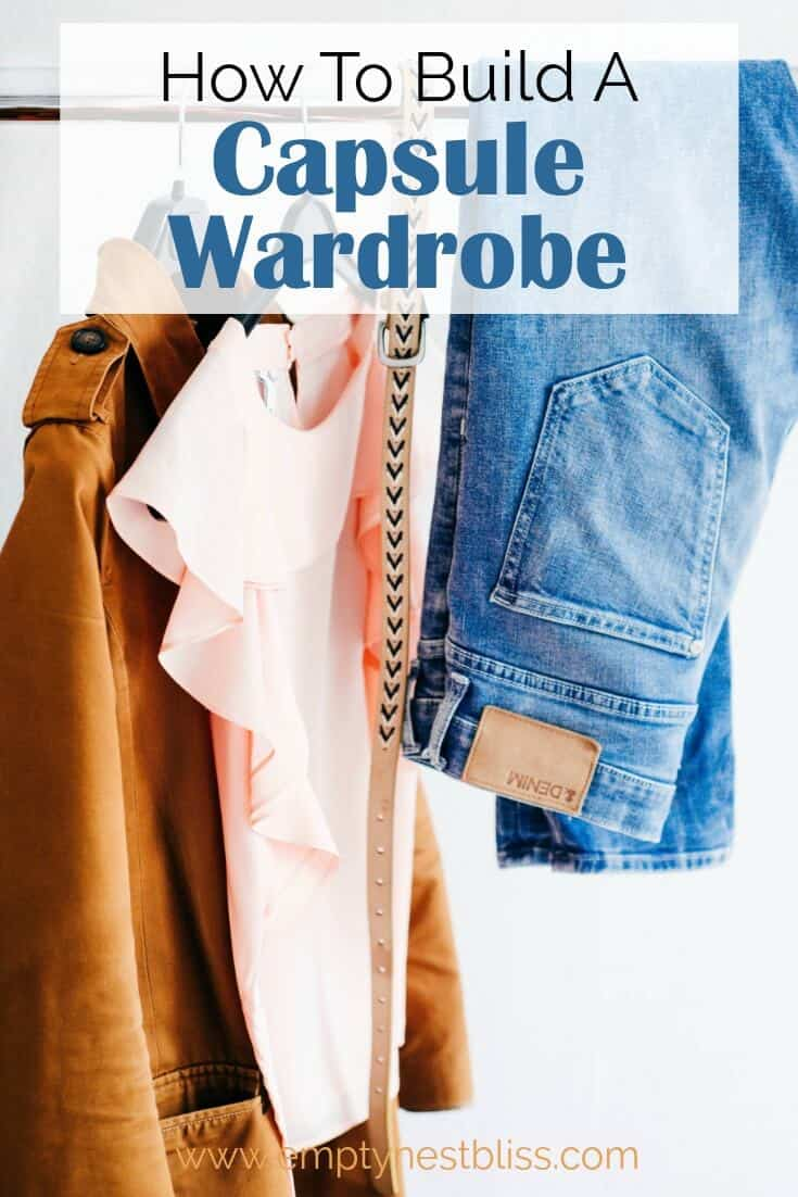 How to Build a Capsule Wardrobe. Plus a free bonus checklist!
