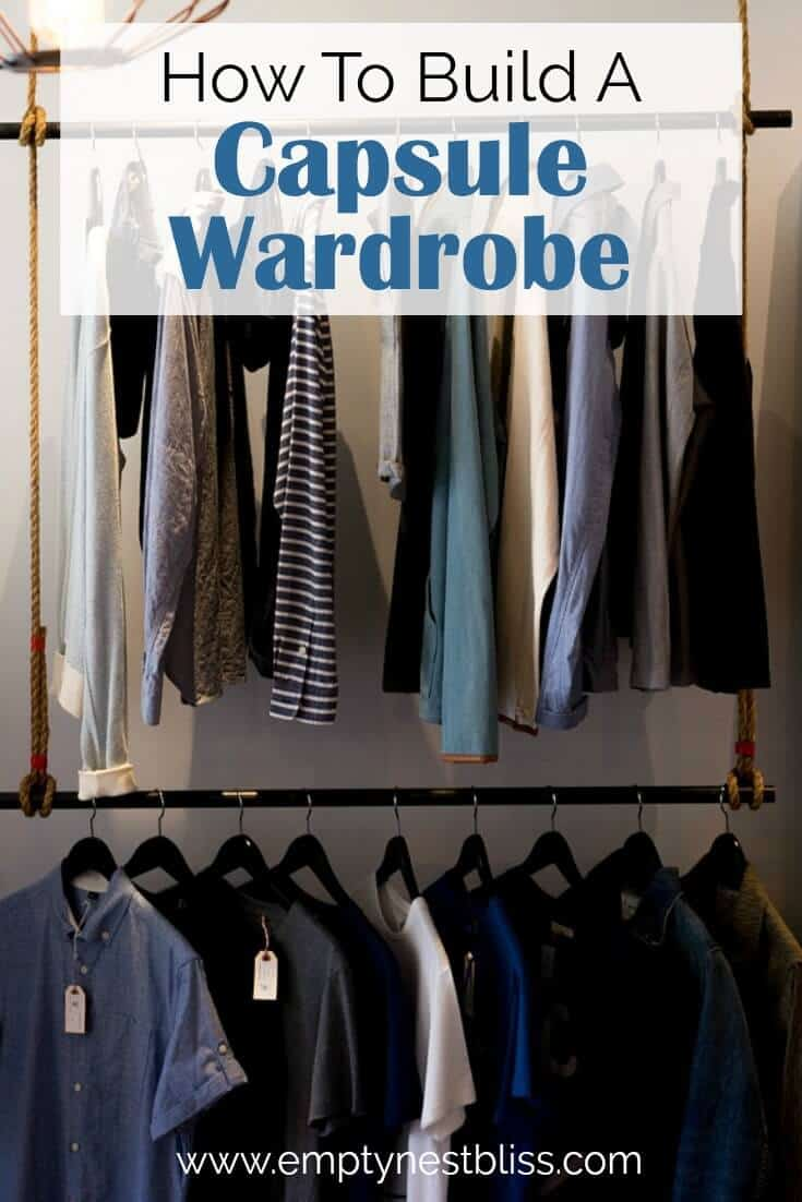 Spring Capsule Wardrobe. Plus a free capsule wardrobe checklist to download.