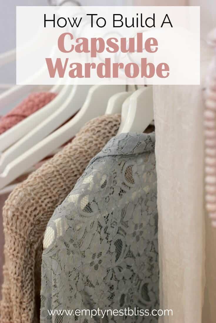 Summer Capsule Wardrobe. Plus a free capsule wardrobe checklist to download.