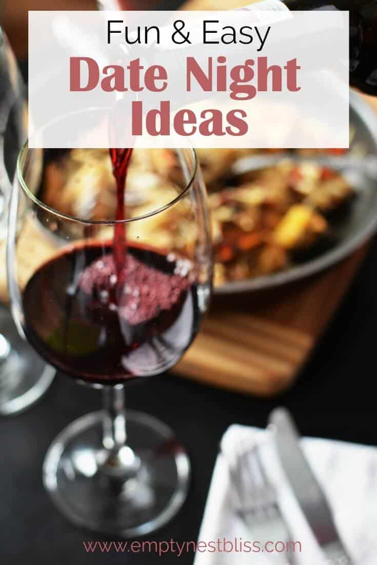Date night ideas at home!