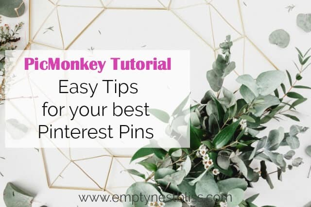 This PicMonkey Tutorial is SO easy! Make gorgeous Pinterest pins in a snap!