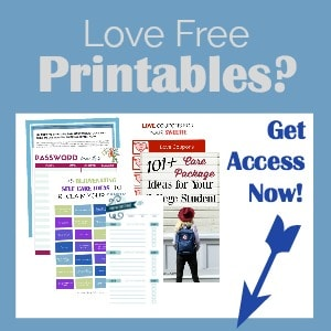 Free Printables to help you love your life.