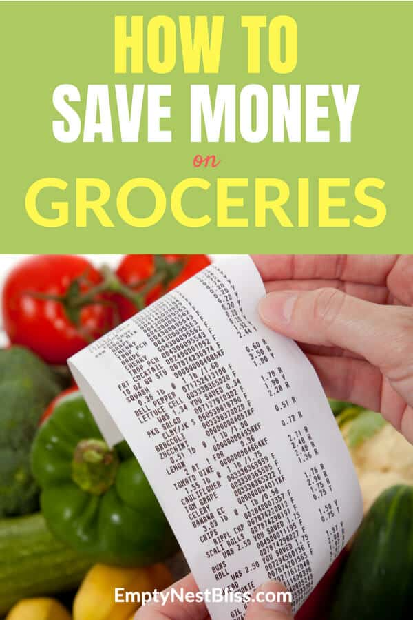 Save money on groceries without coupons! #frugal #money #finance
