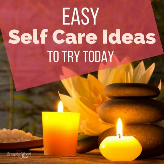 Easy self care ideas you actually have time for!!