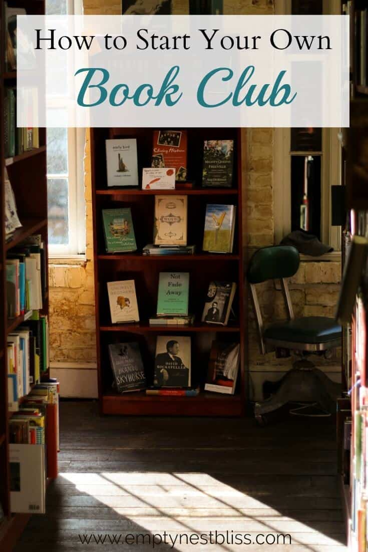 Start Your Own Bookclub with this handy printable guide.
