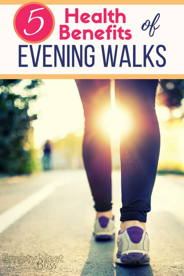Evening walks can be a huge part of your healthy living plan, and they're fun too! | walk fitness | walk for health | #fitness #healthylifestyle #fitnesstips #healthyliving