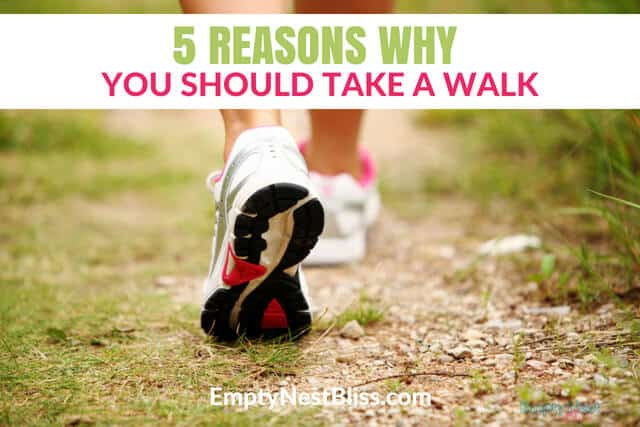 Evening walking benefits your health and can help you lose weight.