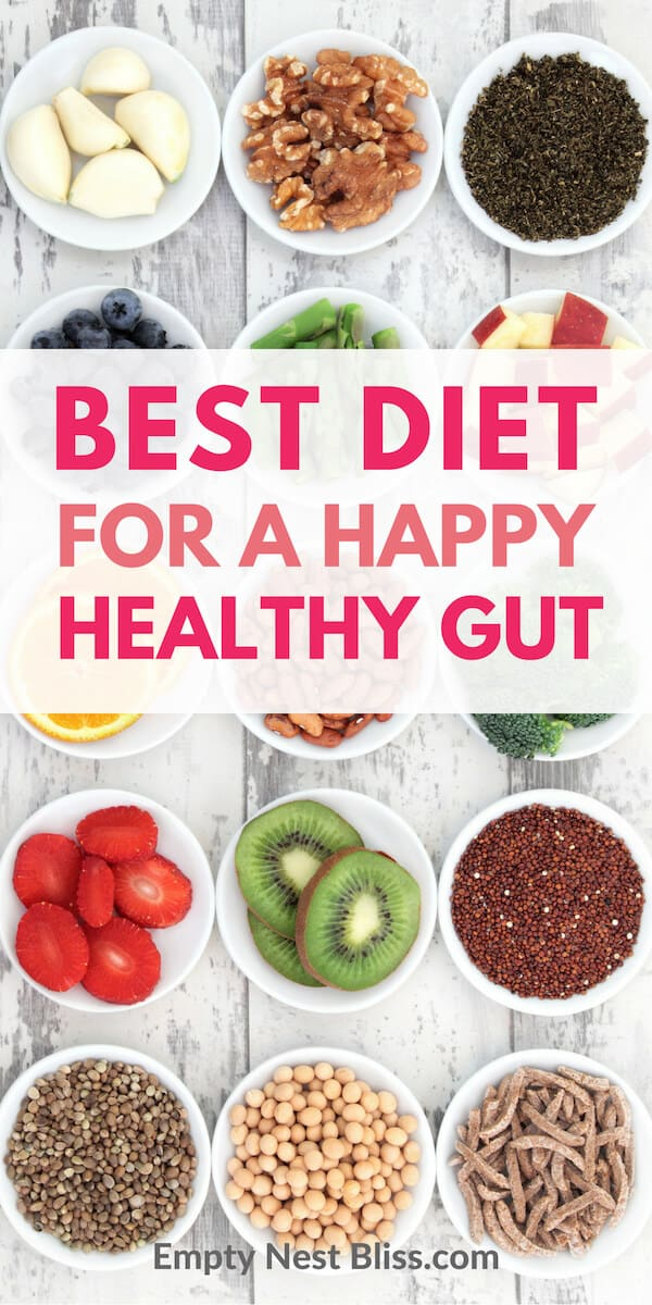 How to choose the best diet for a happy healthy gut to start improve your gut health today.