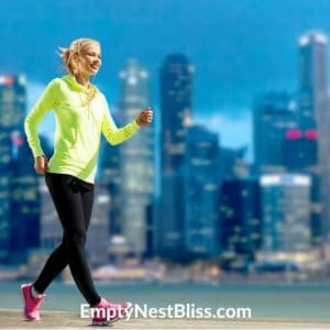 Brisk Walking for weight loss.