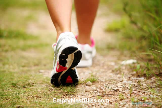 Brisk walking can help you lose weight and get healthy.