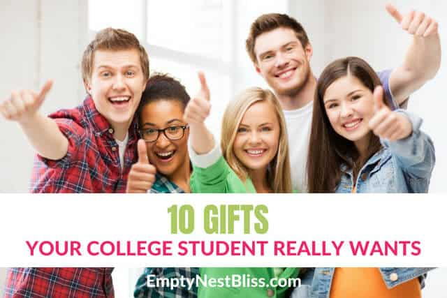 All the gifts your college student really wants!