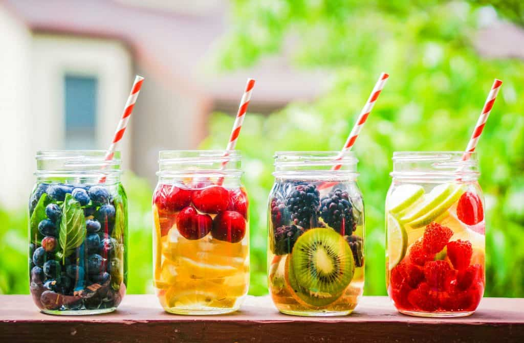 Infused Water and Detox water make drinking water delicious!