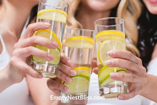 Easy ways to drink more water.