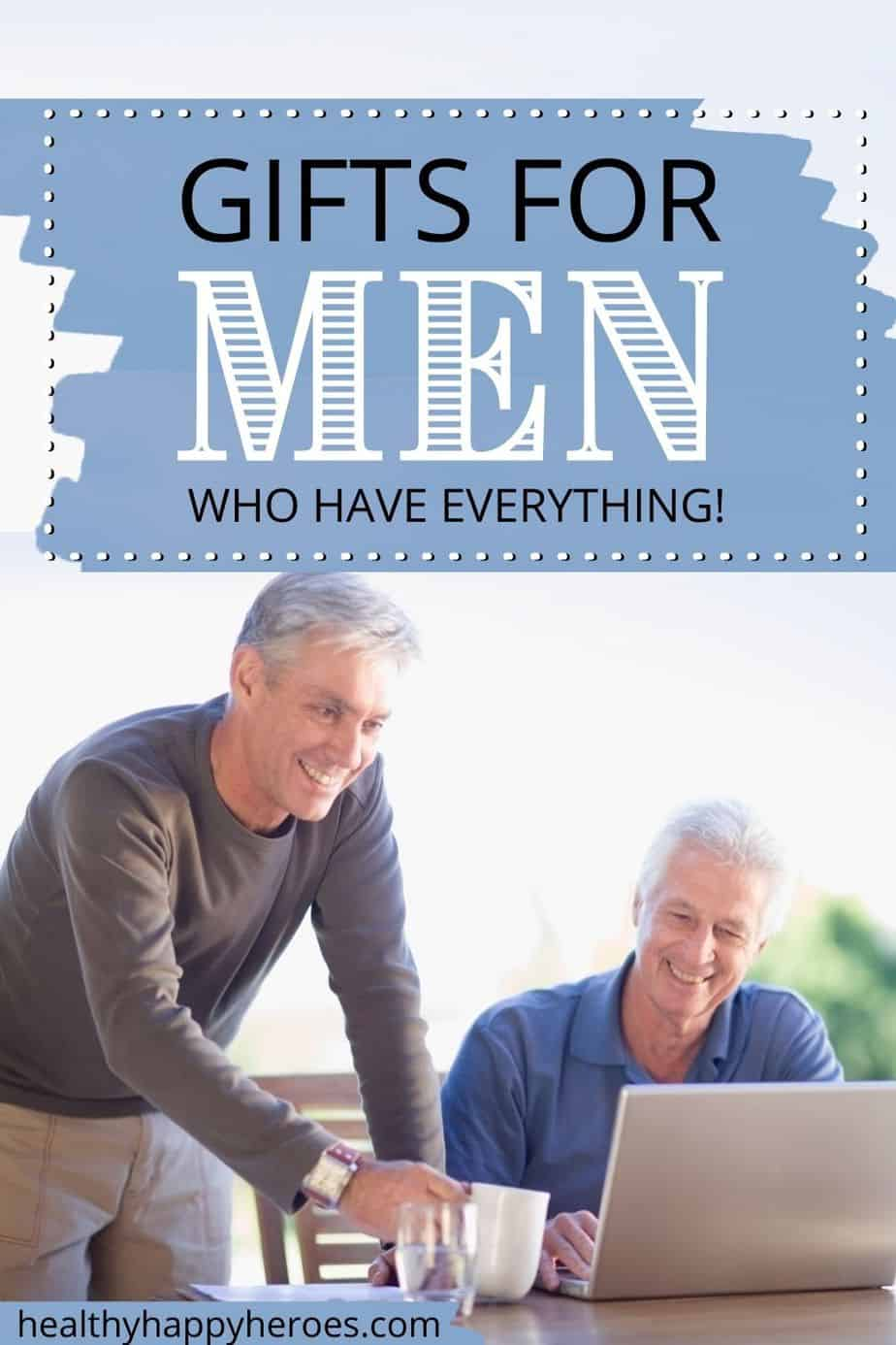 gifts for men over 50 graphic