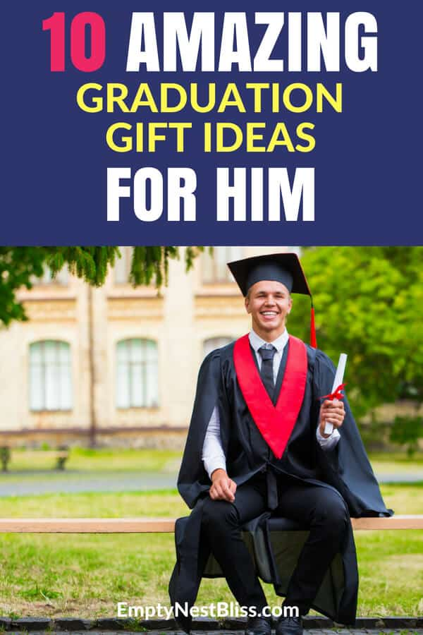 Graduation gift ideas for him that he will actually love! #graduation #college #highschool #giftideas