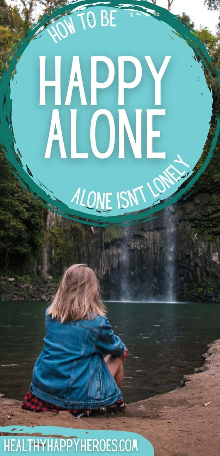 how to find happiness alone