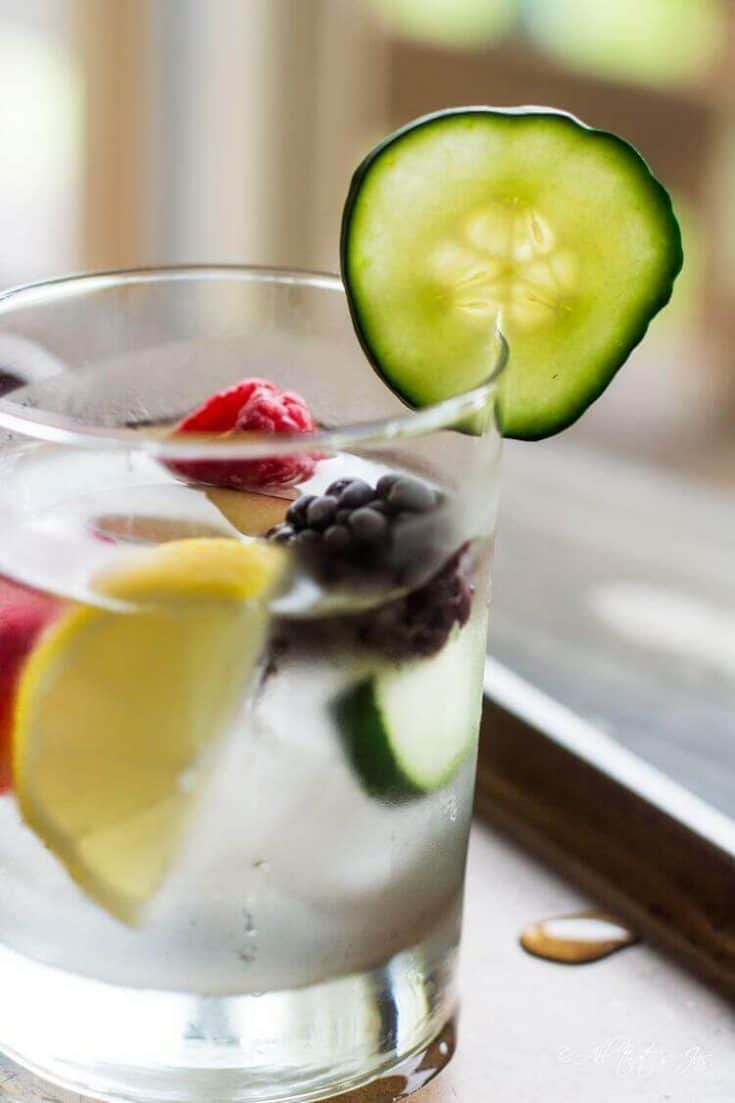 Detox Water for Skin and Hydration