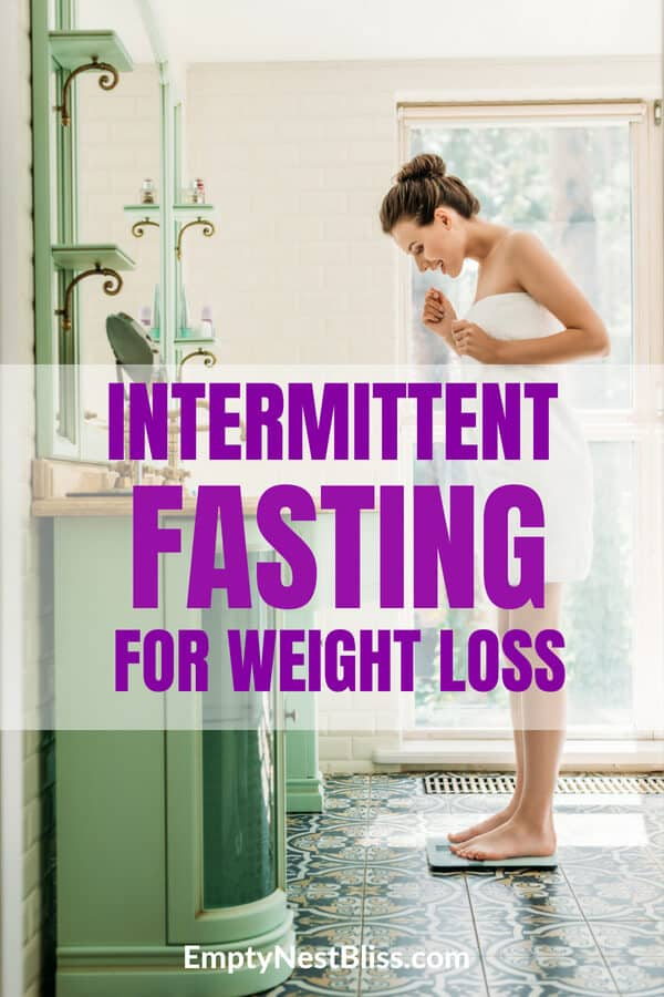 Intermittent fasting works so well for weight loss without crazy diets or feeling like you're starving.
