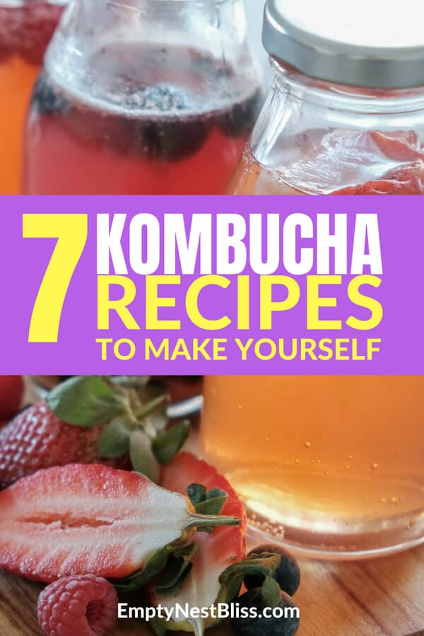 Kombucha is so good for you and so easy to make at home.