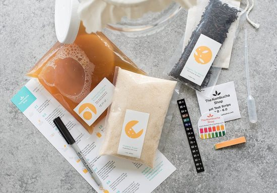 Check out all the kombucha kits you can buy online and get started making kombucha today!