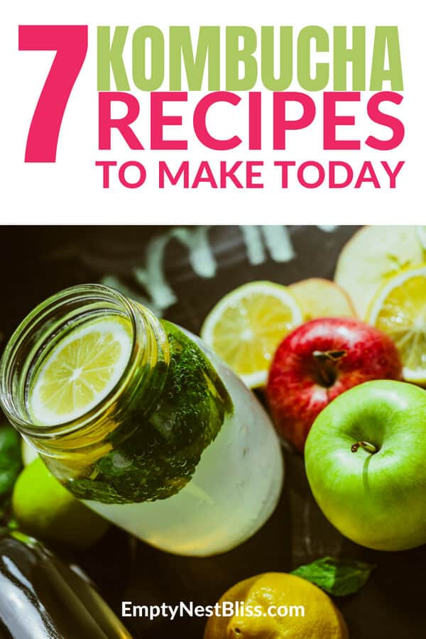 Kombucha flavors and recipes that you can use to make your own kombucha at home.