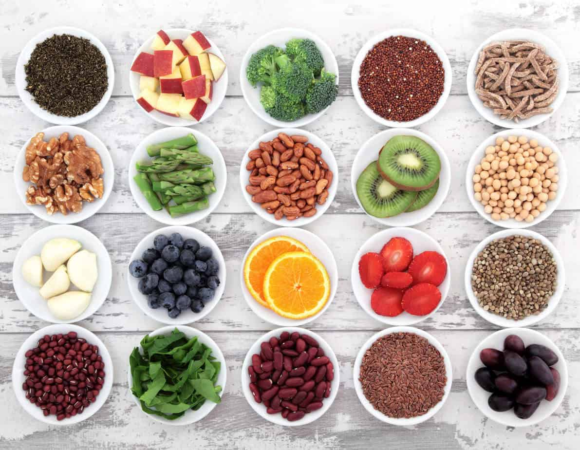 Eat a broad range of the right foods to help heal leaky gut.