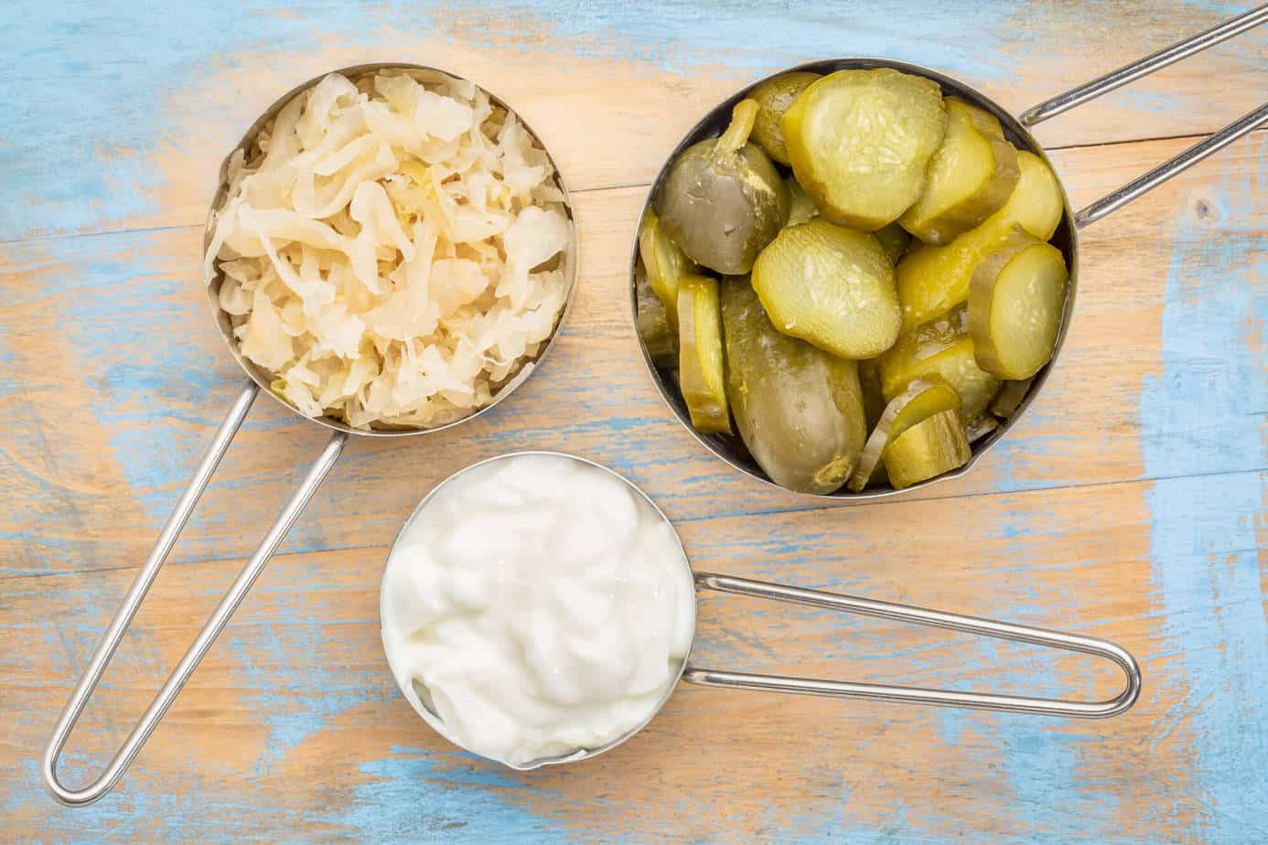 Fermented foods can provide a great source of probiotics for your gut health diet.