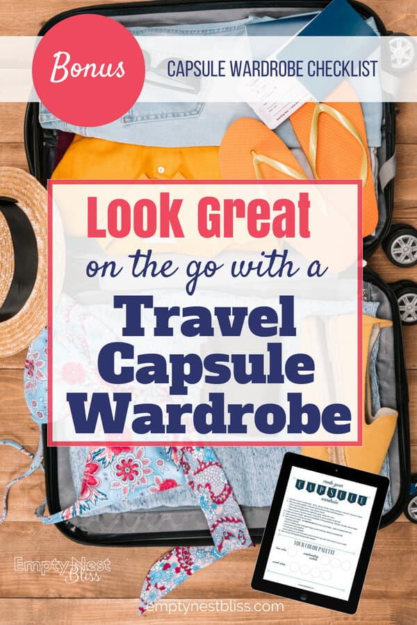Travel Capsule Wardrobes make packing a breeze!